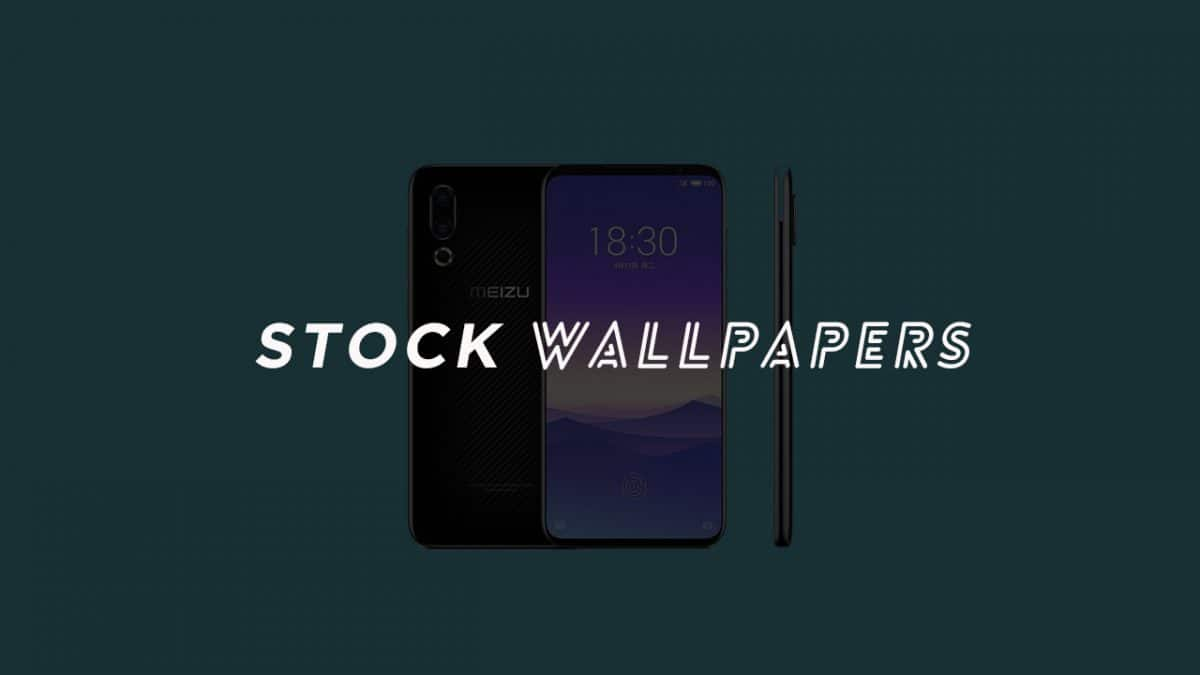 Download Meizu 16S Stock Wallpapers