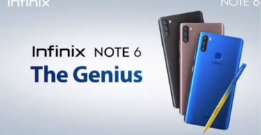 Infinix Note 6 launched with Triple Camera, X Pen Stylus, Helio P35 SoC, and more