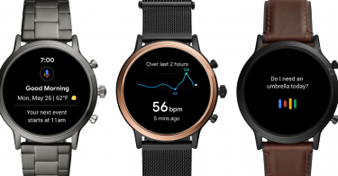 Fossil Gen 5 Wear OS Smartwatch launched with Snapdragon Wear 3100 platform