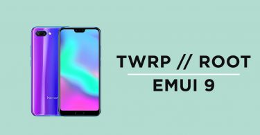 Install TWRP Recovery and Root Honor 10 On EMUI 9