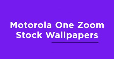 Download Motorola One Zoom Stock Wallpapers