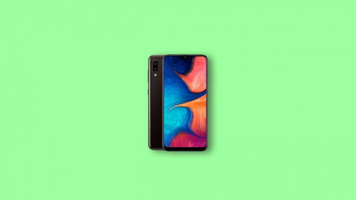 Root Samsung Galaxy A20 using Magisk