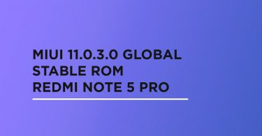 Install MIUI 11.0.3.0 Global Stable ROM On Redmi Note 5 Pro [V11.0.3.0.PEIMIXM]